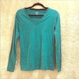 3 Mossimo sply blue, green, purple Long-sleeve Tee